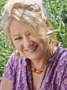 Portrait of writer Nicola Cleasby